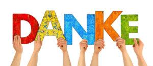 danke an alle Wählerinnen und Wähler